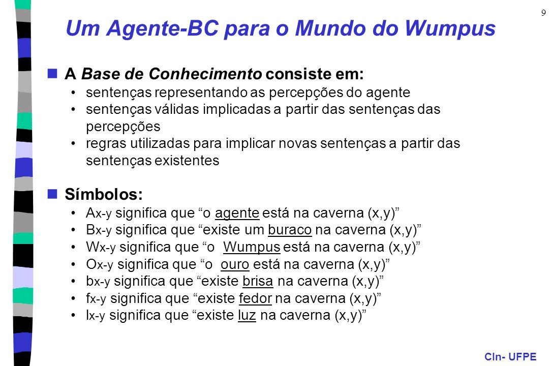Um Agente-BC para o Mundo do Wumpus