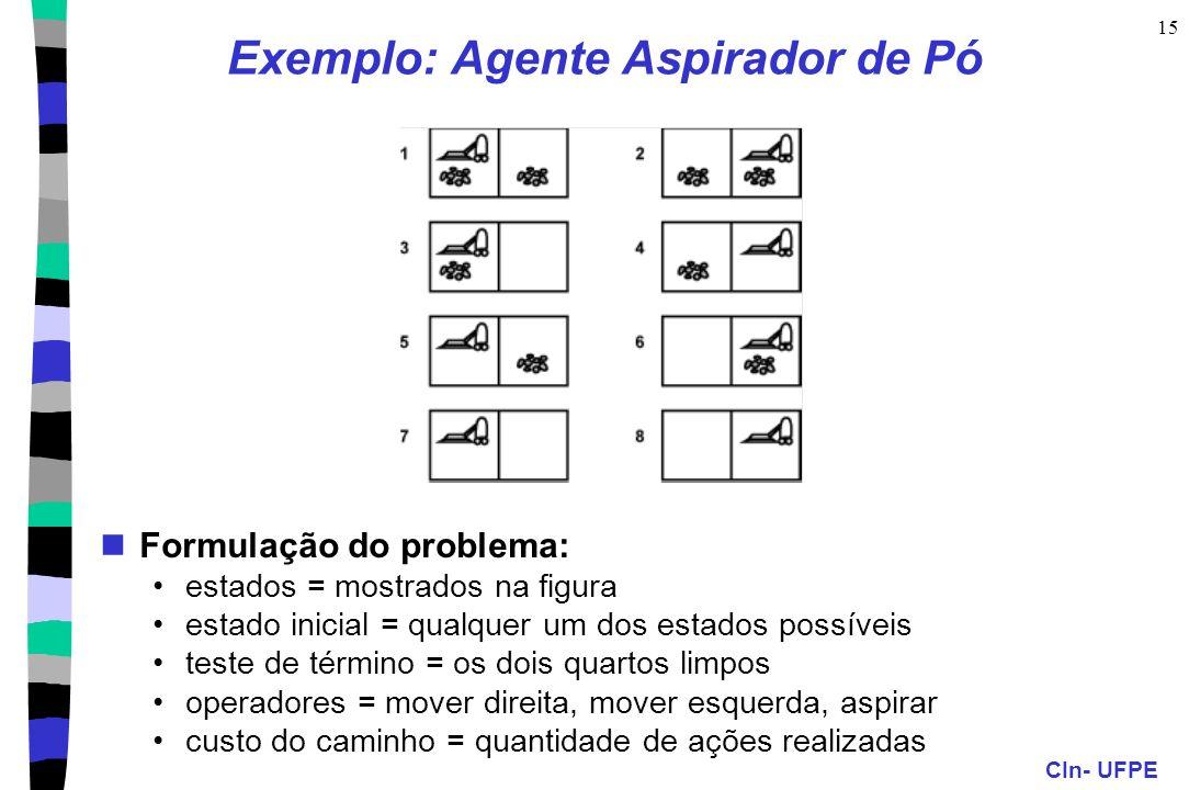 Exemplo: Agente Aspirador de Pó