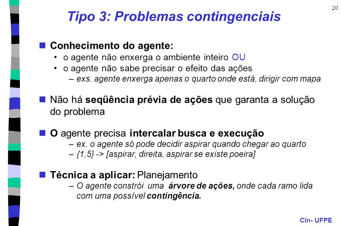 Tipo 3: Problemas contingenciais