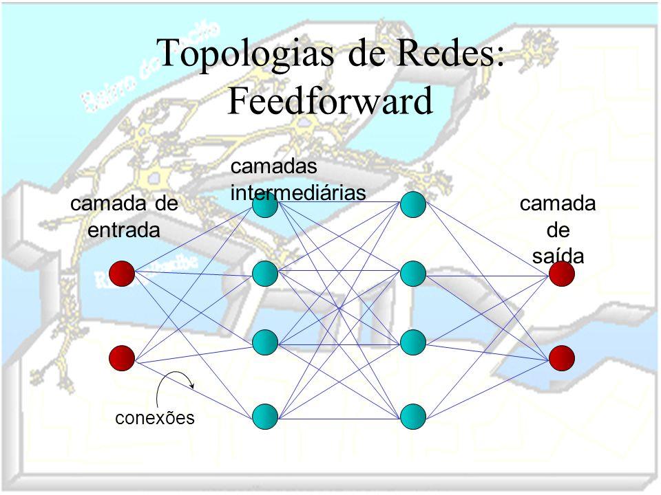 Topologias de Redes: Feedforward