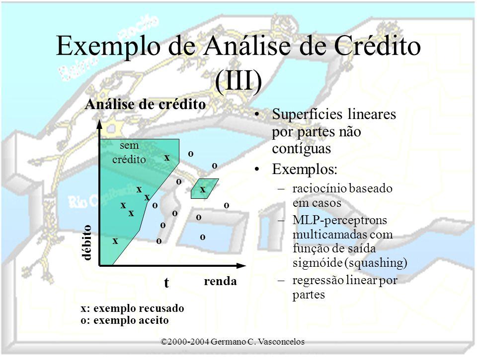 Exemplo de Análise de Crédito (III)