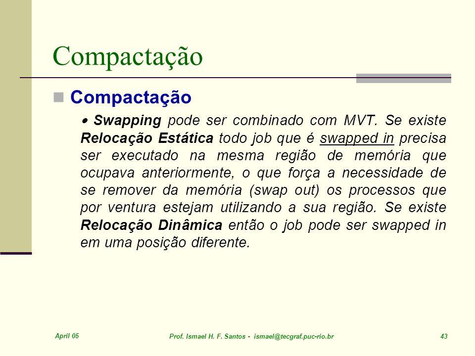 Compactação Compactação