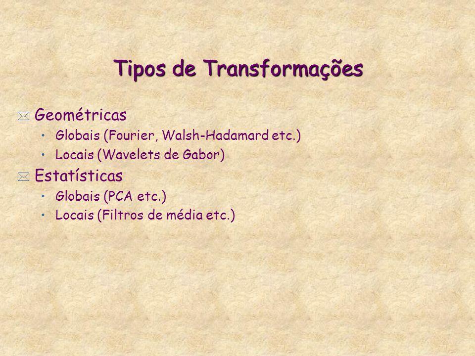 Tipos de Transformações