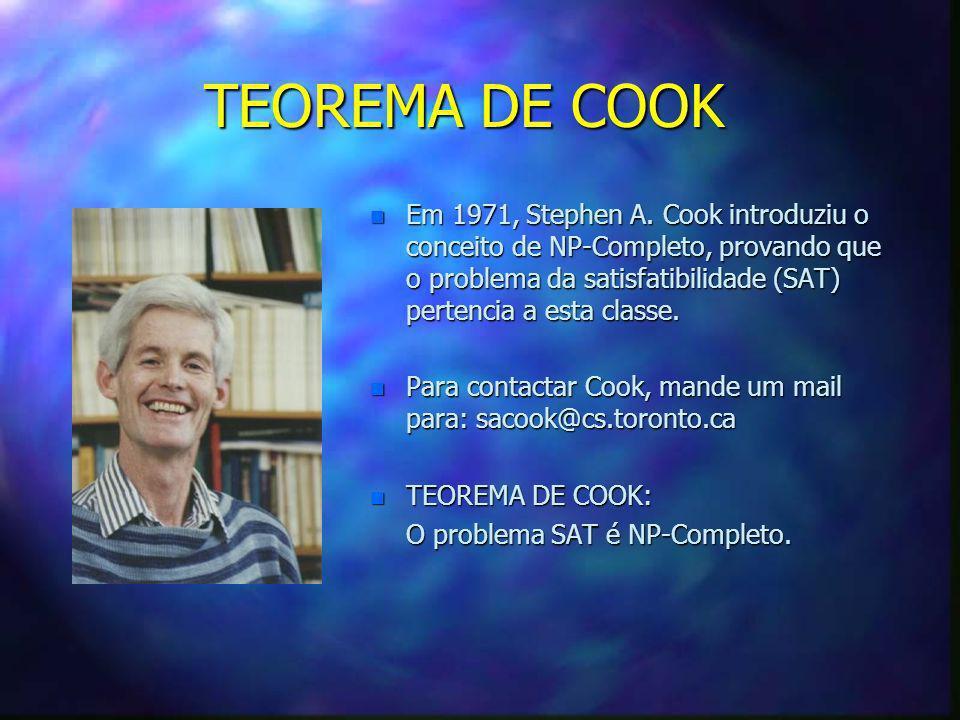 TEOREMA DE COOK