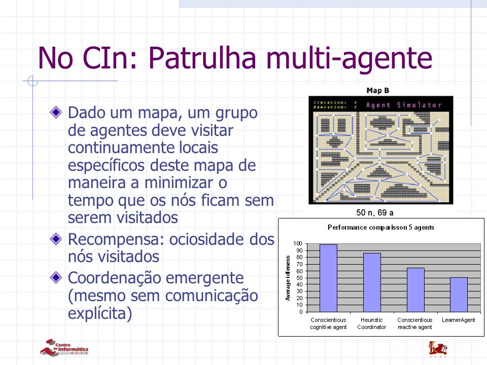 No CIn: Patrulha multi-agente