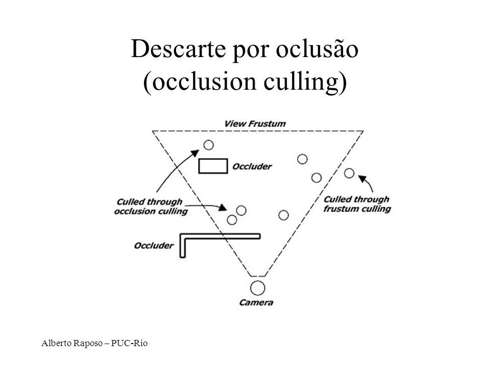 Descarte por oclusão (occlusion culling)
