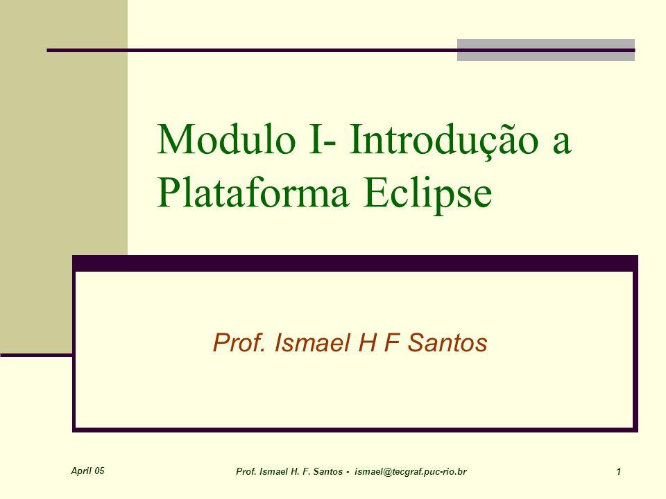 Modulo I- Introdução a Plataforma Eclipse