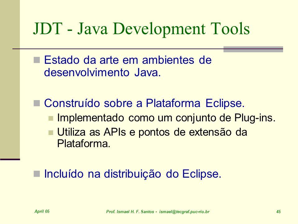 JDT - Java Development Tools
