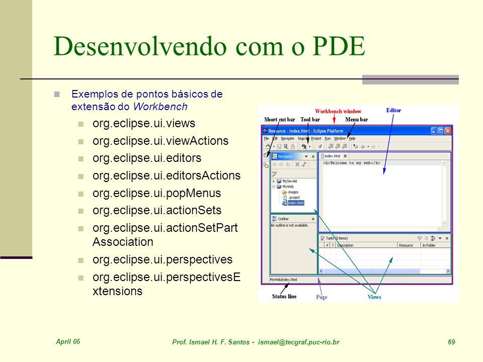Desenvolvendo com o PDE