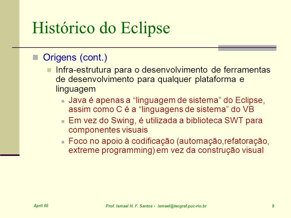Histórico do Eclipse Origens (cont.)
