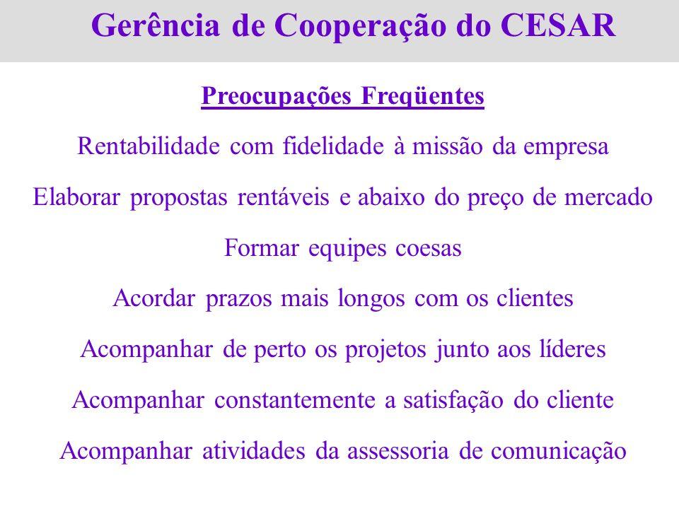 Gerência de Cooperação do CESAR