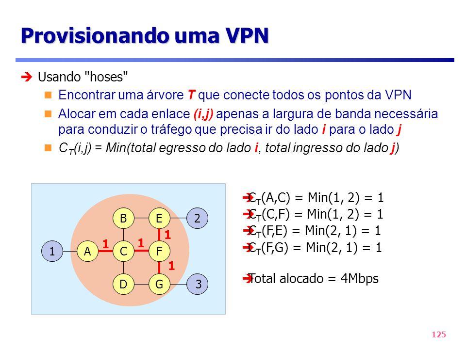 Provisionando uma VPN Usando hoses
