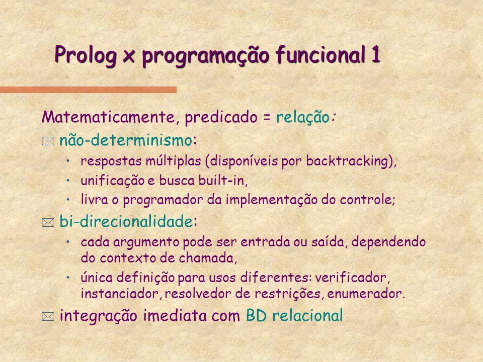 Prolog x programação funcional 1