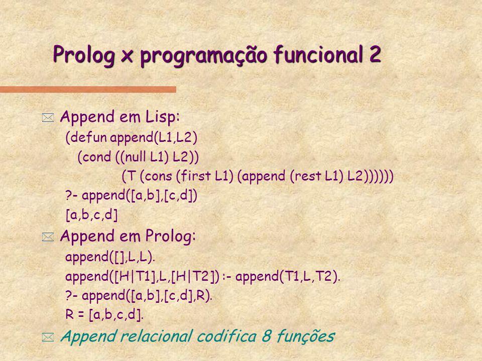 Prolog x programação funcional 2
