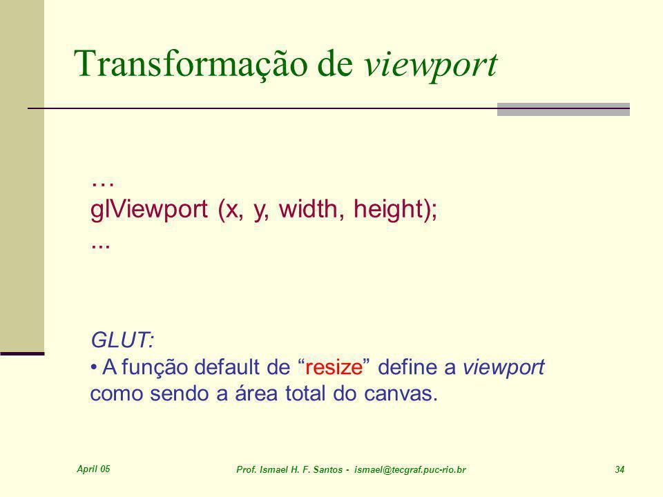Transformação de viewport