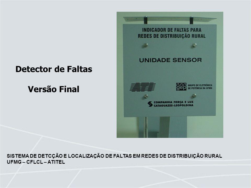 Detector de Faltas Versão Final