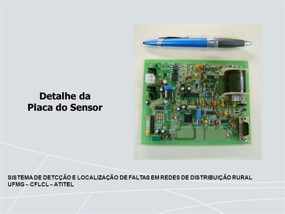 Detalhe da Placa do Sensor
