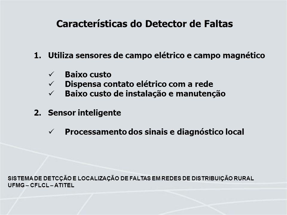 Características do Detector de Faltas