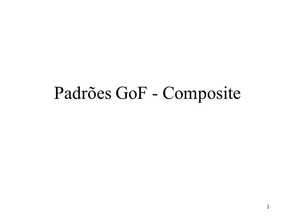 Padrões GoF - Composite