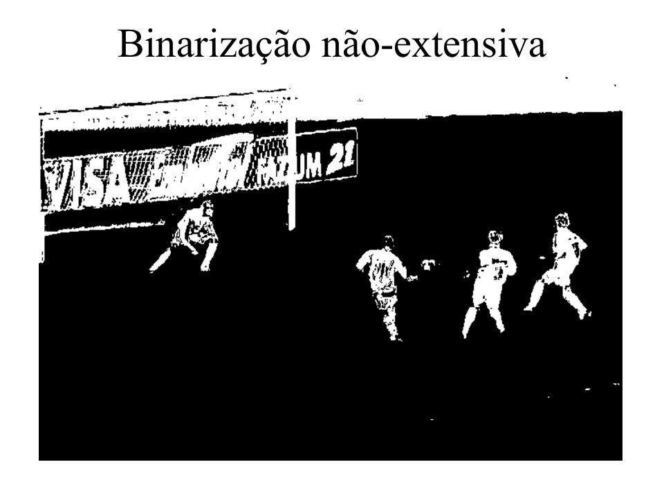 Binarização não-extensiva