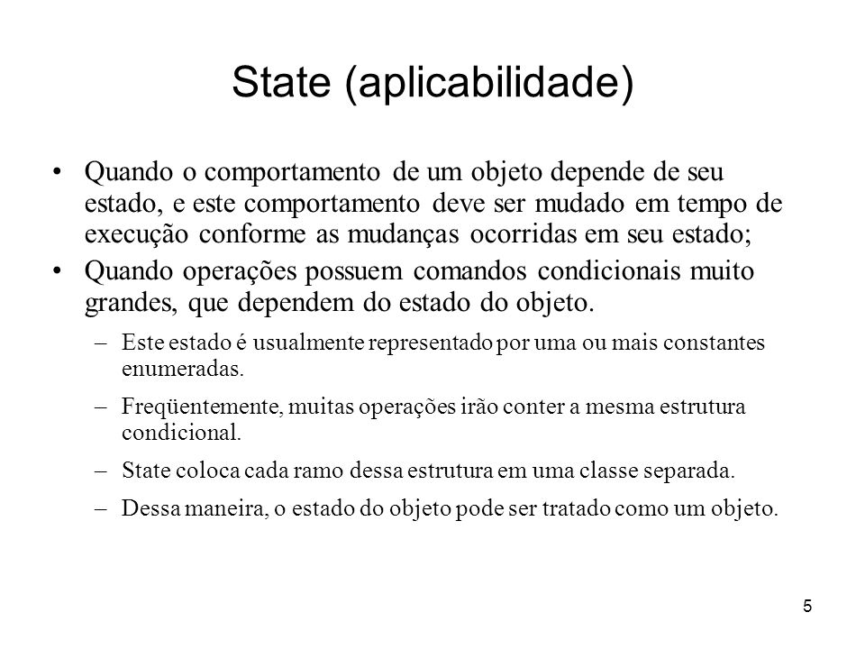 State (aplicabilidade)