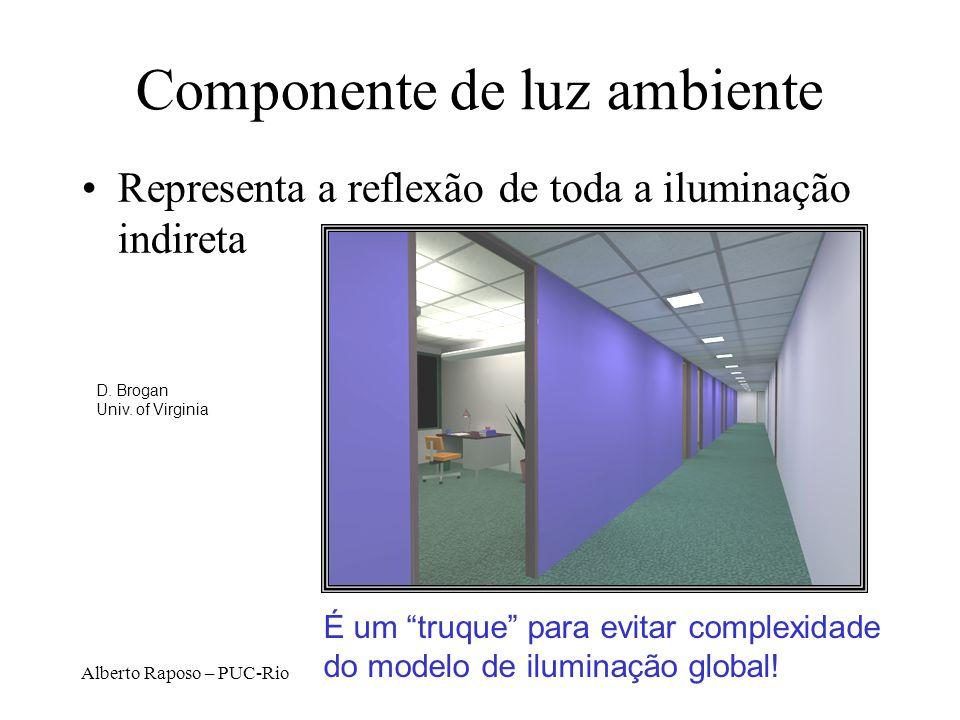 Componente de luz ambiente