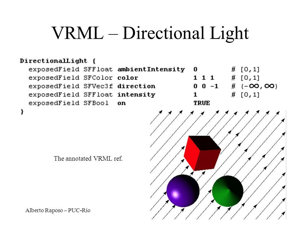 VRML – Directional Light