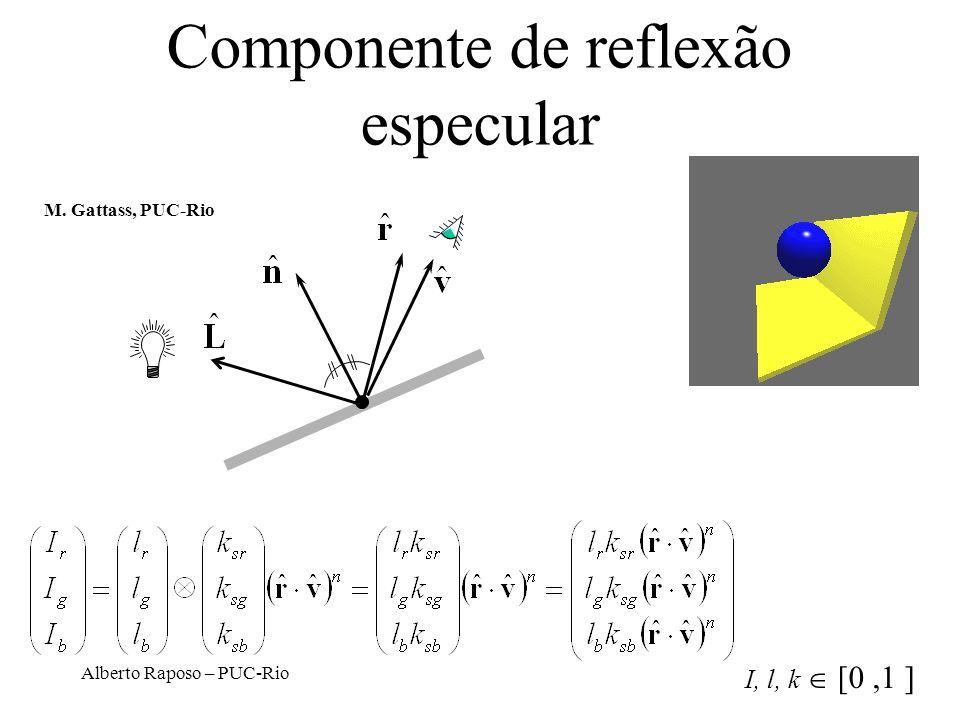 Componente de reflexão especular