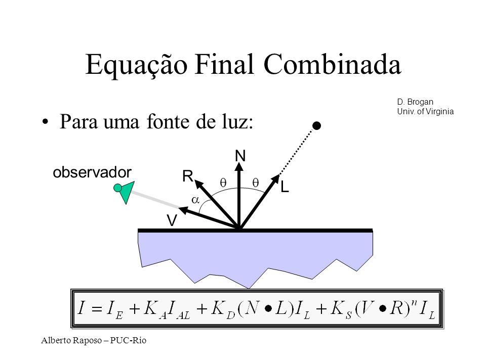 Equação Final Combinada