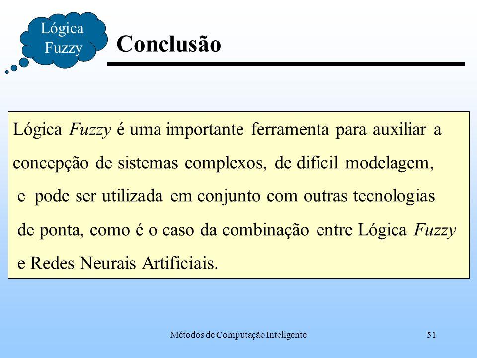 Métodos de Computação Inteligente