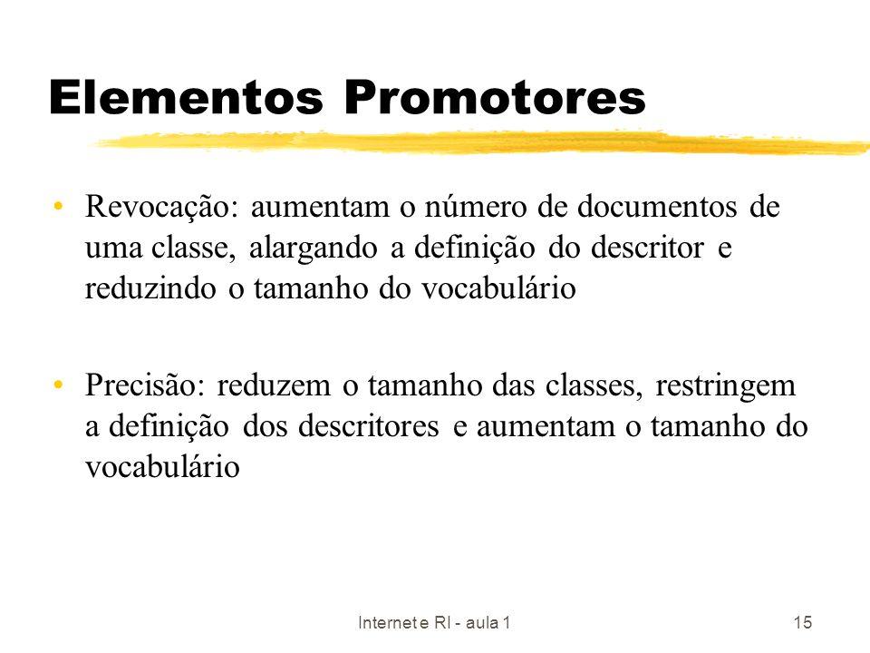 Elementos Promotores