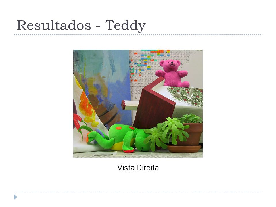 Resultados - Teddy Vista Direita