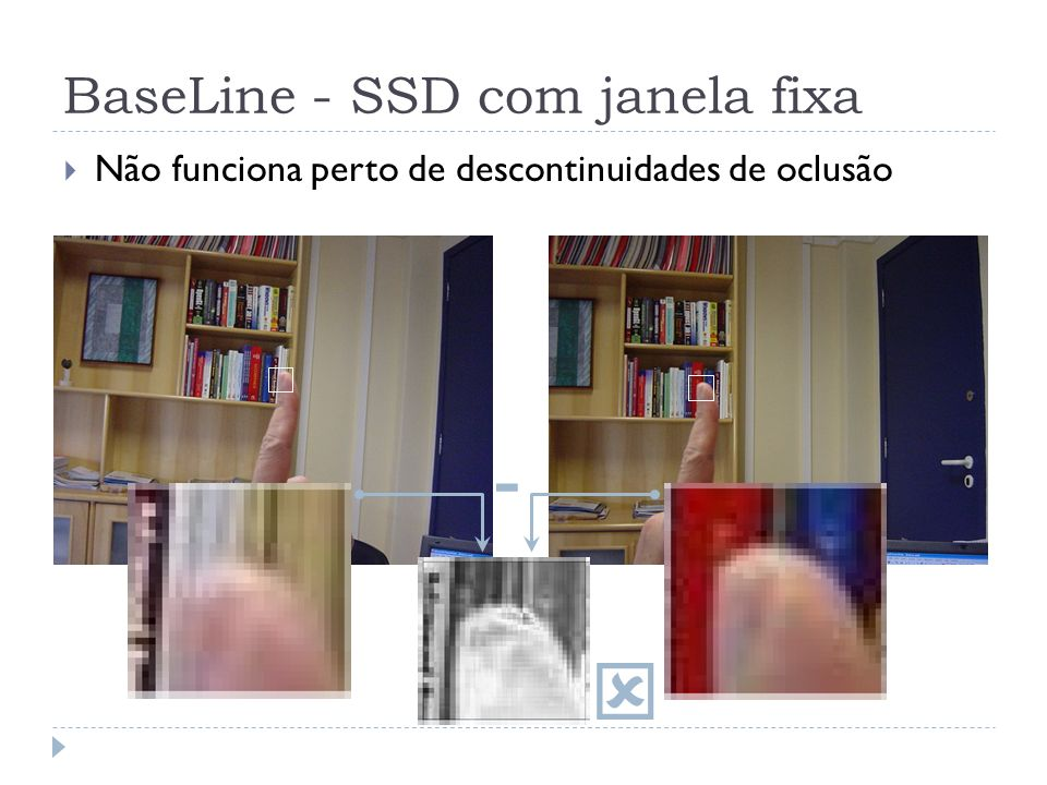BaseLine - SSD com janela fixa