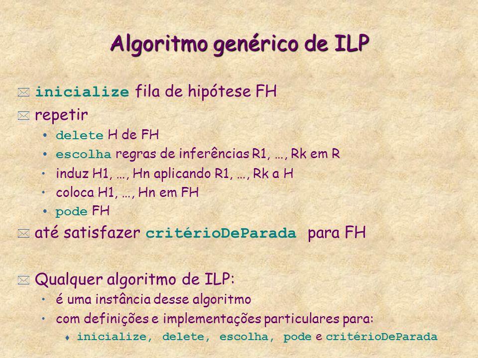 Algoritmo genérico de ILP