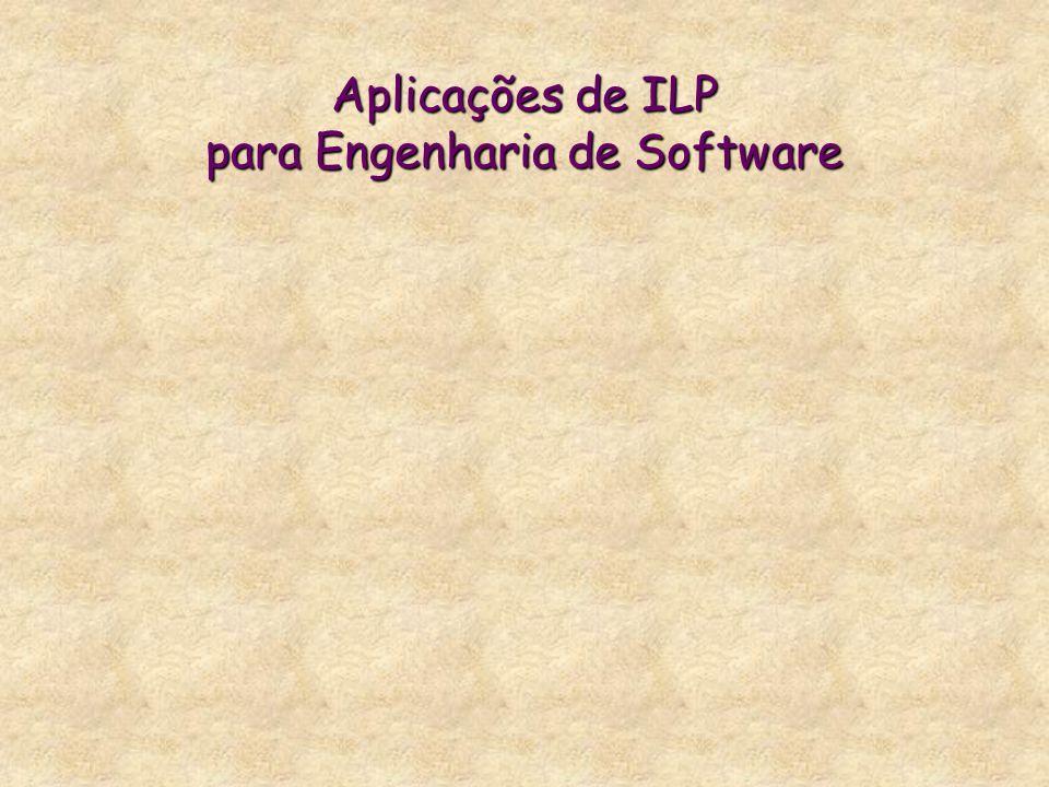 Aplicações de ILP para Engenharia de Software