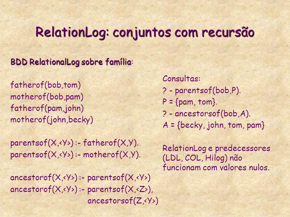 RelationLog: conjuntos com recursão