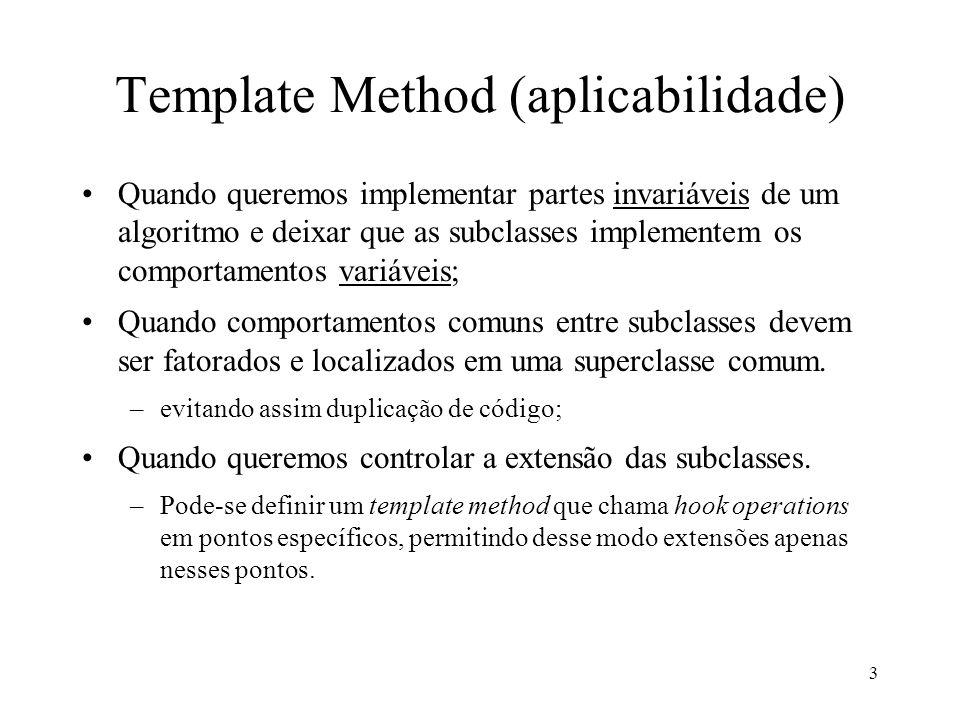 Template Method (aplicabilidade)