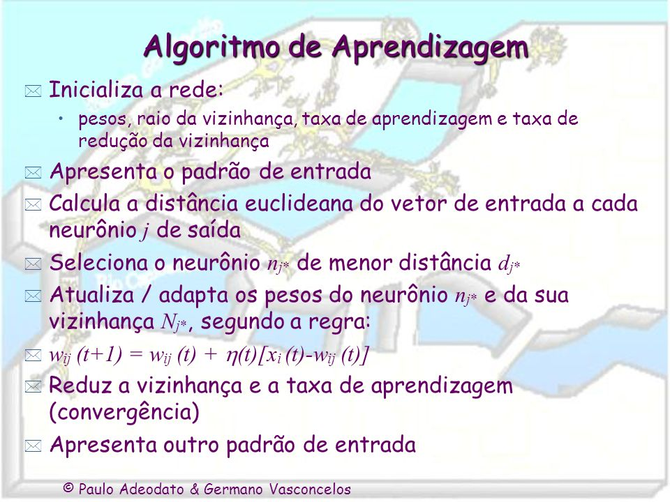 Algoritmo de Aprendizagem