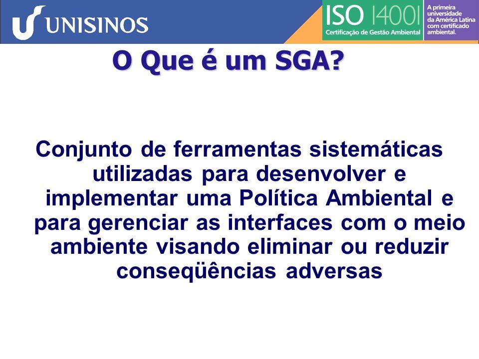 O Que é um SGA