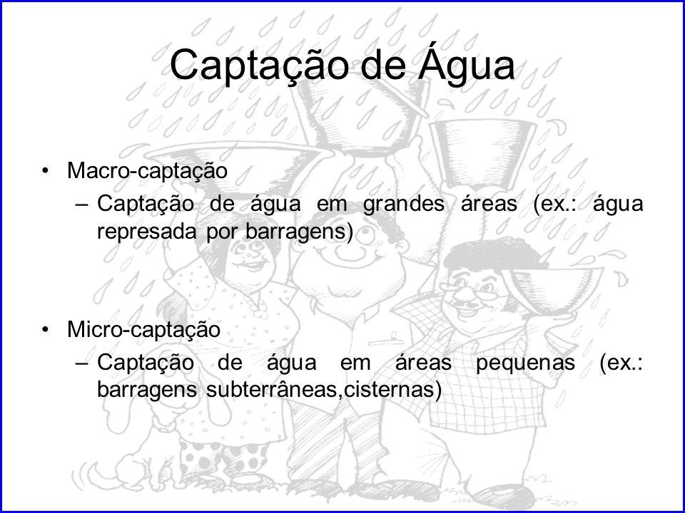 Captação de Água Macro-captação