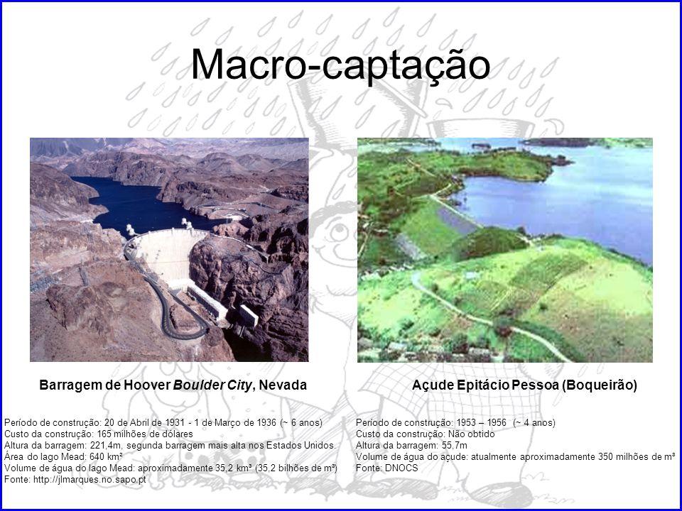 Macro-captação Barragem de Hoover Boulder City, Nevada