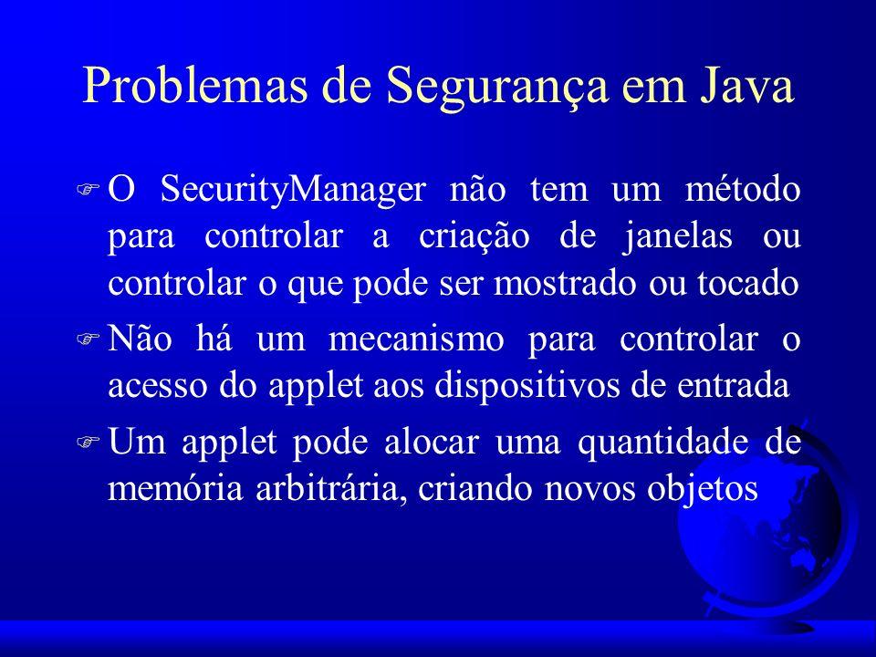 Problemas de Segurança em Java