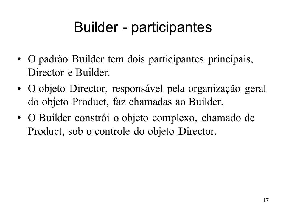 Builder - participantes