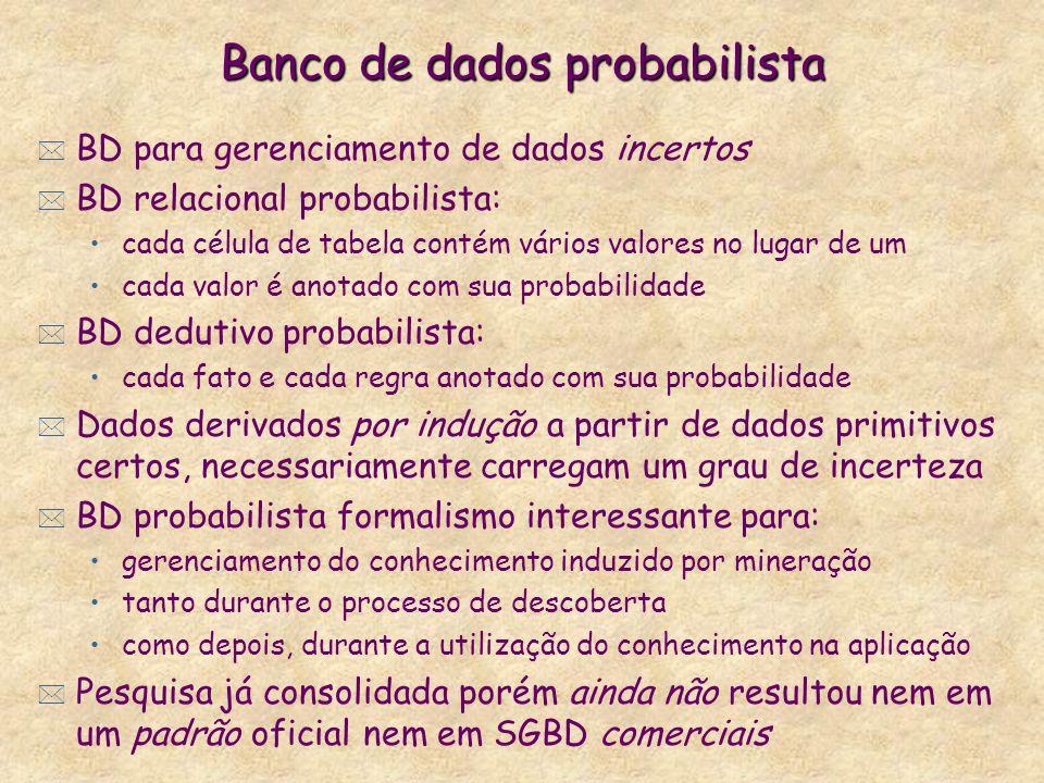Banco de dados probabilista