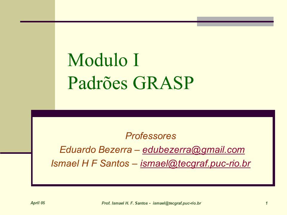 Modulo I Padrões GRASP Professores