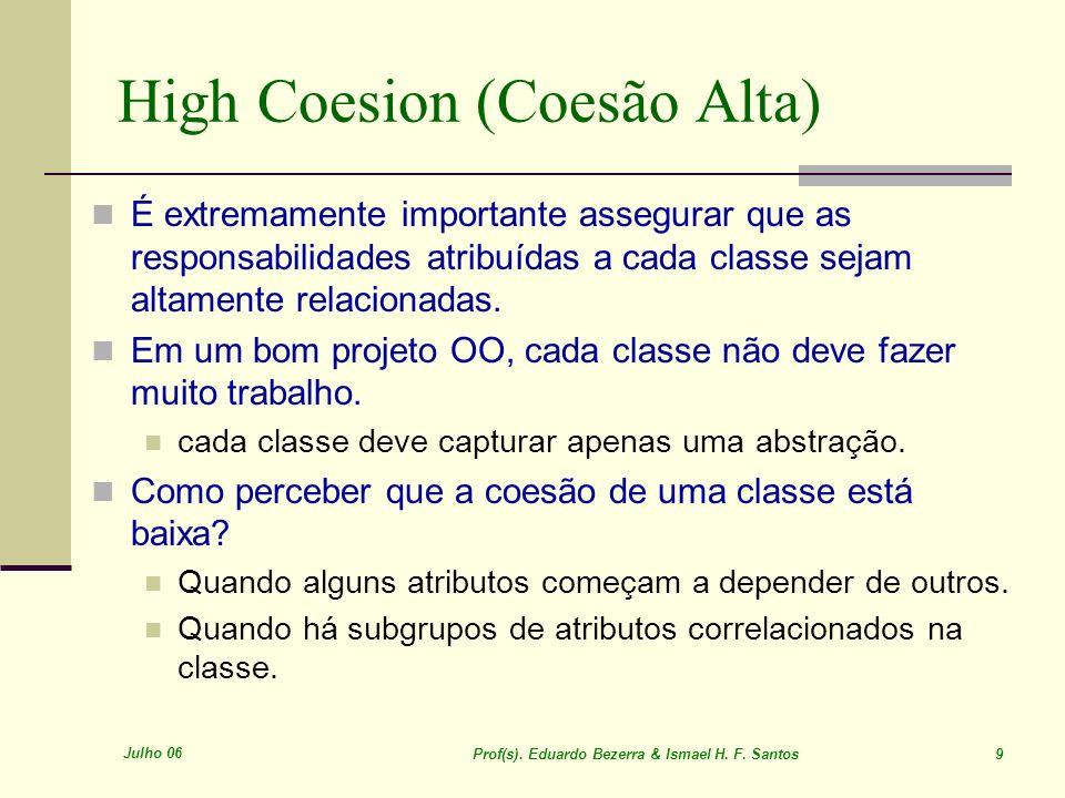 High Coesion (Coesão Alta)