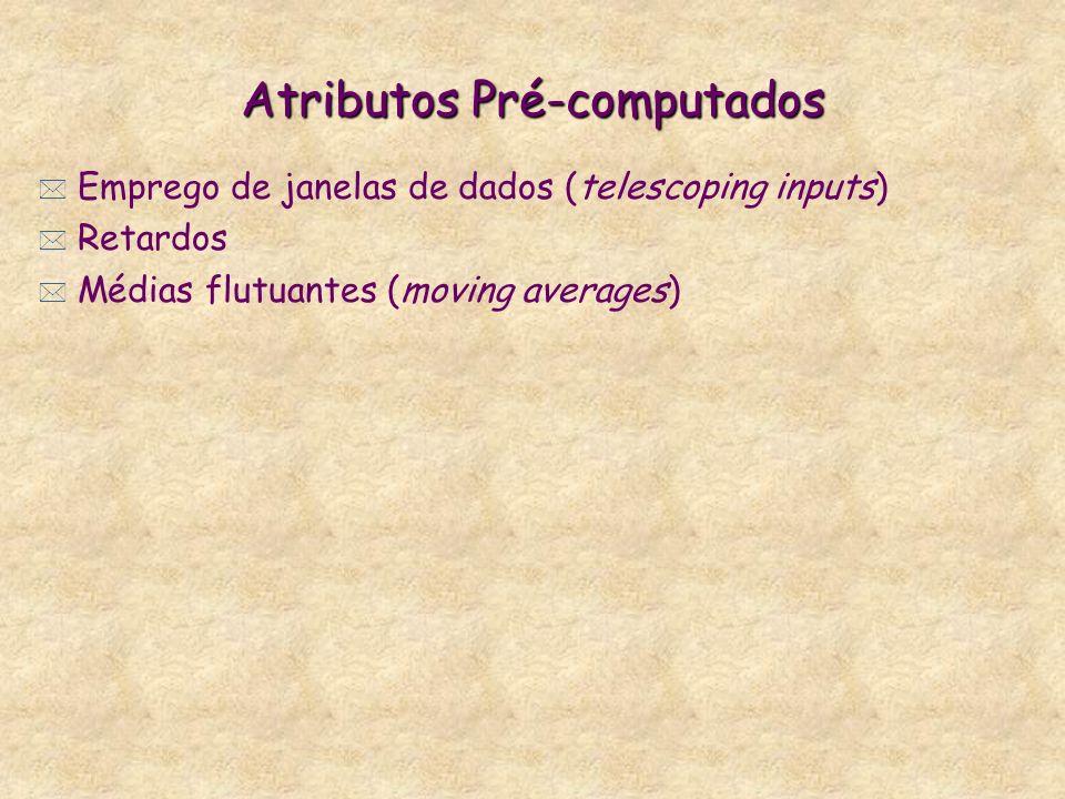 Atributos Pré-computados