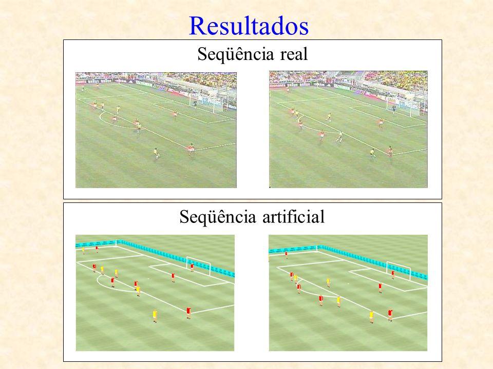 Resultados Seqüência real Seqüência artificial