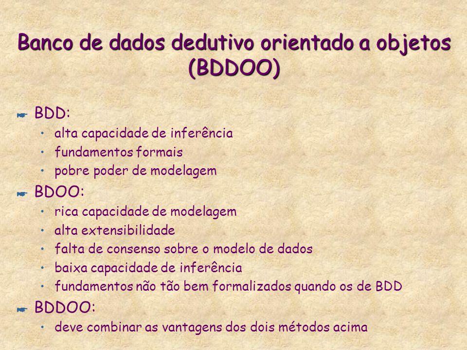 Banco de dados dedutivo orientado a objetos (BDDOO)