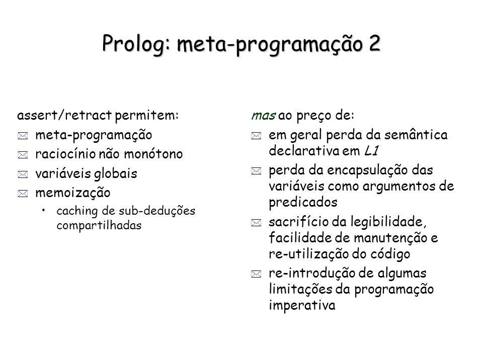 Prolog: meta-programação 2